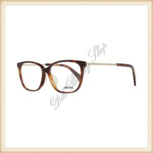CAVALLI JUST Rame ochelari JC0706-F 053 55 Oferta speciala! Produsul este livrat cu toc si batista pentru ochelari. Produs destinat femeilor. Rama este maro, iar materialul ramei contine metal si plastic.