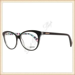 CAVALLI JUST Rame ochelari JC0694 005 53 Oferta speciala! Produsul este livrat cu toc si batista pentru ochelari. Produs destinat femeilor. Rama este neagra, iar materialul ramei contine metal si plastic.