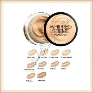 MAX FACTOR Whipped Creme Fond de ten