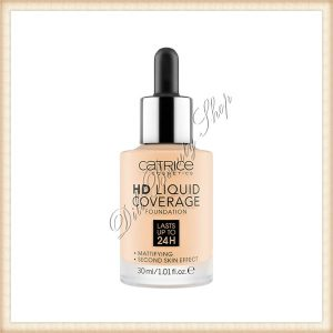 CATRICE HD Liquide Coverage Fond de ten 30 ml
