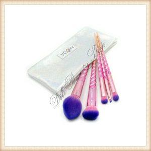 Set Pensule Royal & Langnickel, 5 pensule profesionale de machiaj + 1 Pouch