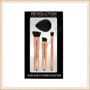 Pensule de make-up Makeup Revolution London Ultra - Sculpt and Blend Collection