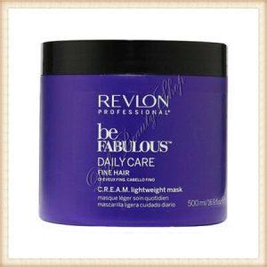 REVLON Professional Be Fabulous Daily Care Masca regeneratoare si hidratanta pentru par fin