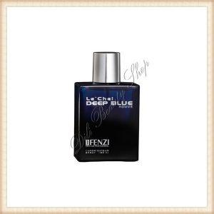 JFENZI Le'Chel Deep Blue Homme Apa de Parfum, Man