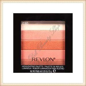 REVLON Paleta iluminatoare, Highlighting Palette Bronze Glow 030 femei blush