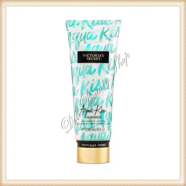 VICTORIA'S SECRET Aqua Kiss Shimmer Lotiune de corp parfumata cu sclipici