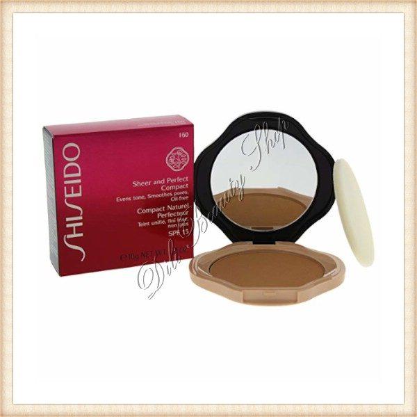 SHISEIDO Pudra comacta SPF 15 Makeup Sheer and Perfect Compact