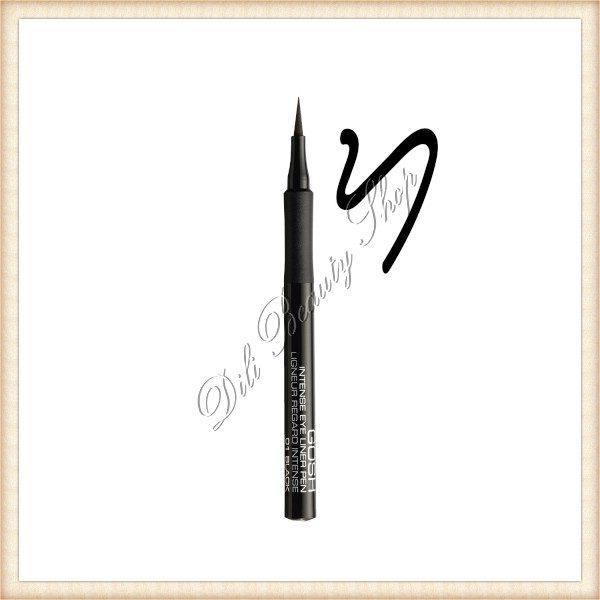 GOSH Intense Eye Liner Pen - 01 Black
