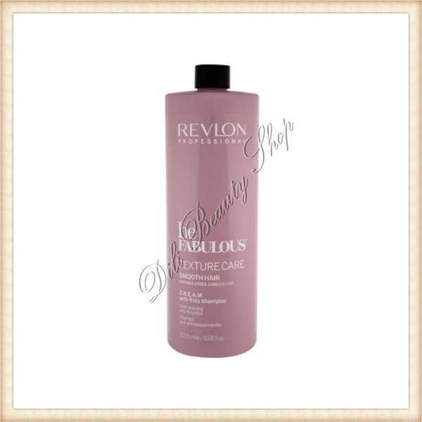 REVLON PROFESSIONAL Sampon Be Fabulous Texture Care Smooth hair C.R.E.A.M. Anti-Frizz